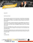 Chris Pattison Prayer Letter:  Financial Blessings