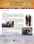 Xavier Lopez Prayer Letter:  Rent More to Bring More to Change More for His Glory