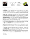 Warren Storm Prayer Letter:  A Goodly Heritage