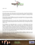 Zach Foust Prayer Letter:  Exciting Times in Lima, Peru