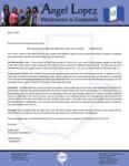 Angel Lopez Prayer Letter:  Please Pray for Bro. Luis!