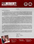 Brian Hebert Prayer Letter:  Deputation in the Land o' Lakes