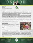 Charles Osgood Prayer Letter:  Vacation Bible School