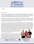 Henry Gonzalez Prayer Letter:  God Is Blessing in El Salvador!