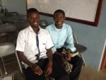 Pastor Rexford with convert Bismark