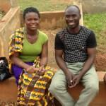 Pastor Christian Gafatsi and his wife Beauty