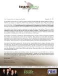 Zach Foust Prayer Letter:  Expanding for Children's Ministries