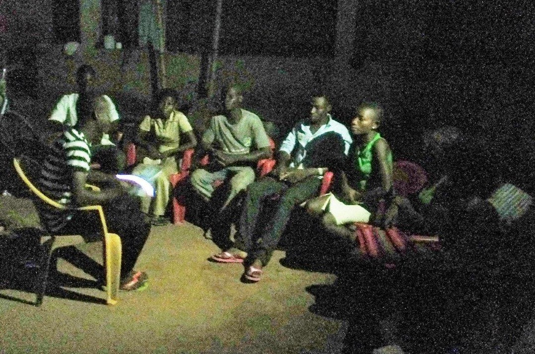A home Bible study started by Pastor Thomas Asare