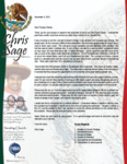 Christopher Sage Prayer Letter:  Productive Pastorate of New Church Plant