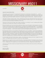 Missionary #6011 Prayer Letter:  An Amazing Two Months!