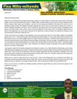 Fisa Mihy-mihyndu Prayer Letter: A Famine of the Word of God in Gabon