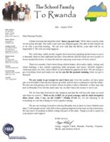 Gregg Schoof Prayer Letter:  Hurry Up and Wait
