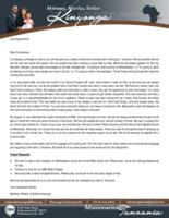 Mshama Kinyonga Prayer Letter:  A Peek Into the Work Here in Morogoro, Tanzania