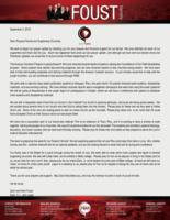 Zach Foust Prayer Letter:  A Very Eventful Few Months!