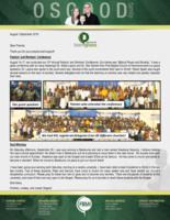 Charles Osgood Prayer Letter: Our Influence Is Growing!