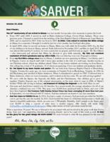 Mike Sarver Prayer Letter: Thanking God for 10 Years!