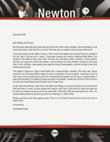 Charles Newton Prayer Letter:  There Is Work to Be Done