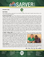 Mike Sarver Prayer Letter:  A Muslim Young Man Trusts Christ