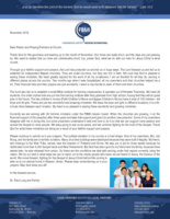 Paul Lung Prayer Letter:  Thank God for His Goodness!