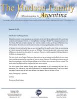 Simeon Hudson Prayer Letter:  20th Anniversary!