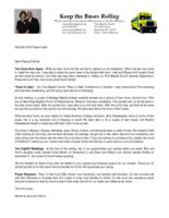 Warren Storm Prayer Letter:  Two Souls Born Again