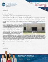Osmin Gutierrez Prayer Letter: Building Construction Moving Ahead