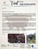 Charlie Vest Prayer Letter: Two New Projects for Reaching Asians With the Gospel