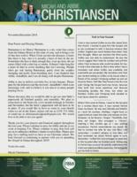 Micah Christiansen Prayer Letter: Spreading the Gospel in 2019