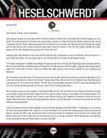 Brandon Heselschwerdt Prayer Letter:  God Has Been So Good to Us!