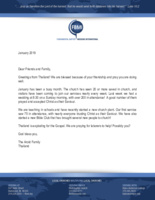 Eddie Arold Prayer Letter: Wedding Day!
