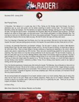 Mark Rader Prayer Letter: Reaching More