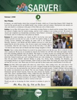 Mike Sarver Prayer Letter:  Spiritual Progress