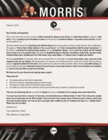 Peter Morris Prayer Letter:  Teaching Pastors Up-Country