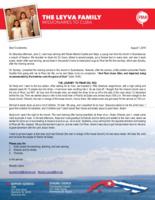 Ricardo Leyva Prayer Letter:  And Paul Chose Silas