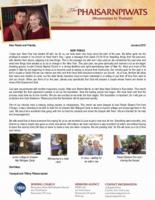 Teerapat Phaisarnpiwat Prayer Letter:  New Things