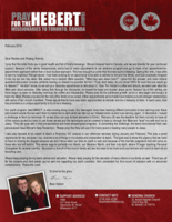 Brian Hebert Prayer Letter:  Blessed Appointments