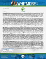 """<a href=""""https://www.fbmi.org/media/2019/03/Dave-Whitmore-Feb-Mar-2019-Prayer-Letter.pdf""""><img src=""""https://i0.wp.com/www.fbmi.org/media/2019/03/Dave-Whitmore-Feb-Mar-2019-Prayer-Letter.pdf.jpg?resize=155%2C200&ssl=1""""></a>During the last six months of 2018, our church raised some money to put a new but simple roof on Maria's home, because when it rained, the house would flood. She, along with her four grandchildren, has been with us since our first service. Praise the Lord that Toni, one of our faithful men, was willing to be responsible to see the job through from start to finish! What a blessing it was to be able to serve and sweat together with him and three other men of the church while helping this family. Please PRAY for Maria and her four grandchildren—Lanay, Lauany, Eduardo, and Lohanny—to continue being faithful to God and church.   At the funeral of Luciane's father in May 2017, we met several family members, including her Uncle Jorge. Through the providence of God, her uncle works security at the bank where I exchange money, so once or twice a month, we talk for up to an hour while he is on the clock. Some time later, the Holy Spirit orchestrated a divine appointment by having him stop at the church on a Saturday afternoon at a time when we are normally not there. Though he had heard how to be saved when Ed Johnson preached at his brother's funeral, he still had several questions. That afternoon at the church, Jorge prayed to put his trust in Jesus as his only hope for Heaven. He is reading the BEAMS Bible (see last paragraph), which we gave him, through for the second time. In a letter dated August 7, 2017, he thanked me for the Bible, and in the last part of the letter, he wrote out a sinner's prayer, confirming that he had truly accepted Jesus as his personal Saviour. Jorge's wife Nicelma has not yet understood her need of a Saviour, so we only communicate at his work, and he only gets to come to church when she is out of town. Please PRAY for Jorge to"""