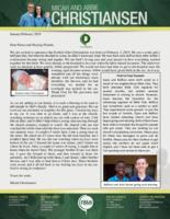 Micah Christiansen Prayer Letter:  New Christians and a New Christiansen!
