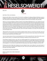 Brandon Heselschwerdt Prayer Letter: God Was in Every Meeting
