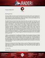 Mark Rader Prayer Letter: We Had a Few Conferences