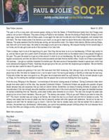 Paul Sock Prayer Letter:  Learning Lessons in Poland, Part III