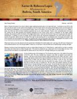 Xavier Lopez Prayer Letter:  Miraculous Answer to Prayer, Living, Breathing Prodigal Son!