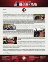 Josh Hedderman Prayer Letter: Continued Progress