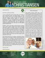 Micah Christiansen Prayer Letter: Giving Children the Gospel!