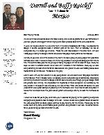 Darrell Ratcliff Prayer Letter:  Evangelistic Campaigns
