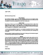 Roberto Tirado Prayer Letter:  Grateful for Heaven, Grateful for Friends