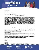 Angel Lopez Prayer Letter: I Am Debtor