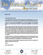 Simeon Hudson Prayer Letter:  Giving the Gift