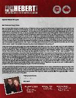 Brian Hebert Prayer Letter:  Opportunities and Victories