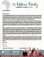 Mark Holmes Prayer Letter:  Survey Trip and Conferences